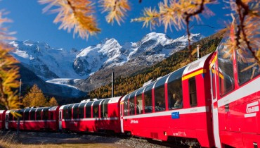 St. Moritz and Bernina Express