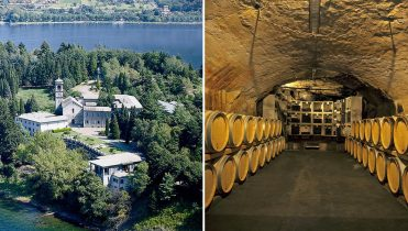 Piona Abbey & Winetasting in a historic cellar of Valtellina